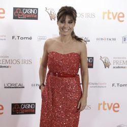 Helena Resano en los Premios Iris de la Academia de Televisión 2015