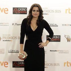 Adriana Torrebejano en los Premios Iris de la Academia de Televisión 2015
