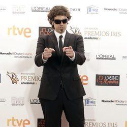 El Hombre de Negro en los Premios Iris de la Academia de Televisión 2015