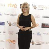 Lourdes Maldonado en los Premios Iris de la Academia de Televisión 2015