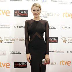 Elena Ballesteros en los XVII Premios Iris de la Academia de Televisión 2015