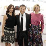 Malena Alterio, José Mota y Norma Ruiz en los Premios Iris de la Academia de Televisión 2015