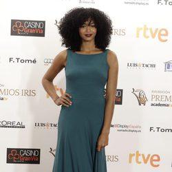 Berta Vázquez en los Premios Iris de la Academia de Televisión 2105