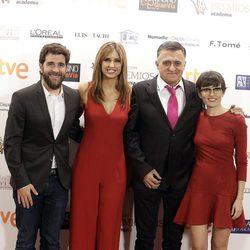 Gonzo, Sandra Sabatés, el Gran Wyoming y Thais Villas en los Premios Iris de la Academia de Televisión 2015