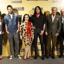 Clara Lago, Dani Martínez, Alaska, Mario Vaquerizo, Arturo Fernández y Santiago Segura ponen voz a 'Hotel Transylvania 2'