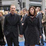 Maribel Verdú y Pedro Larrañaga en la entrega de los Premios Princesa de Asturias 2015