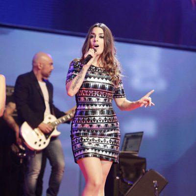 Ruth Lorenzo en el concierto 'Por ellas' de Cadena 100 2015