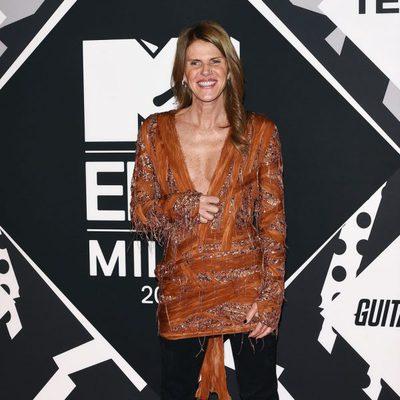 Anna Dello Russo en los MTV EMA 2015