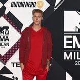 Justin Bieber en los MTV EMA 2015