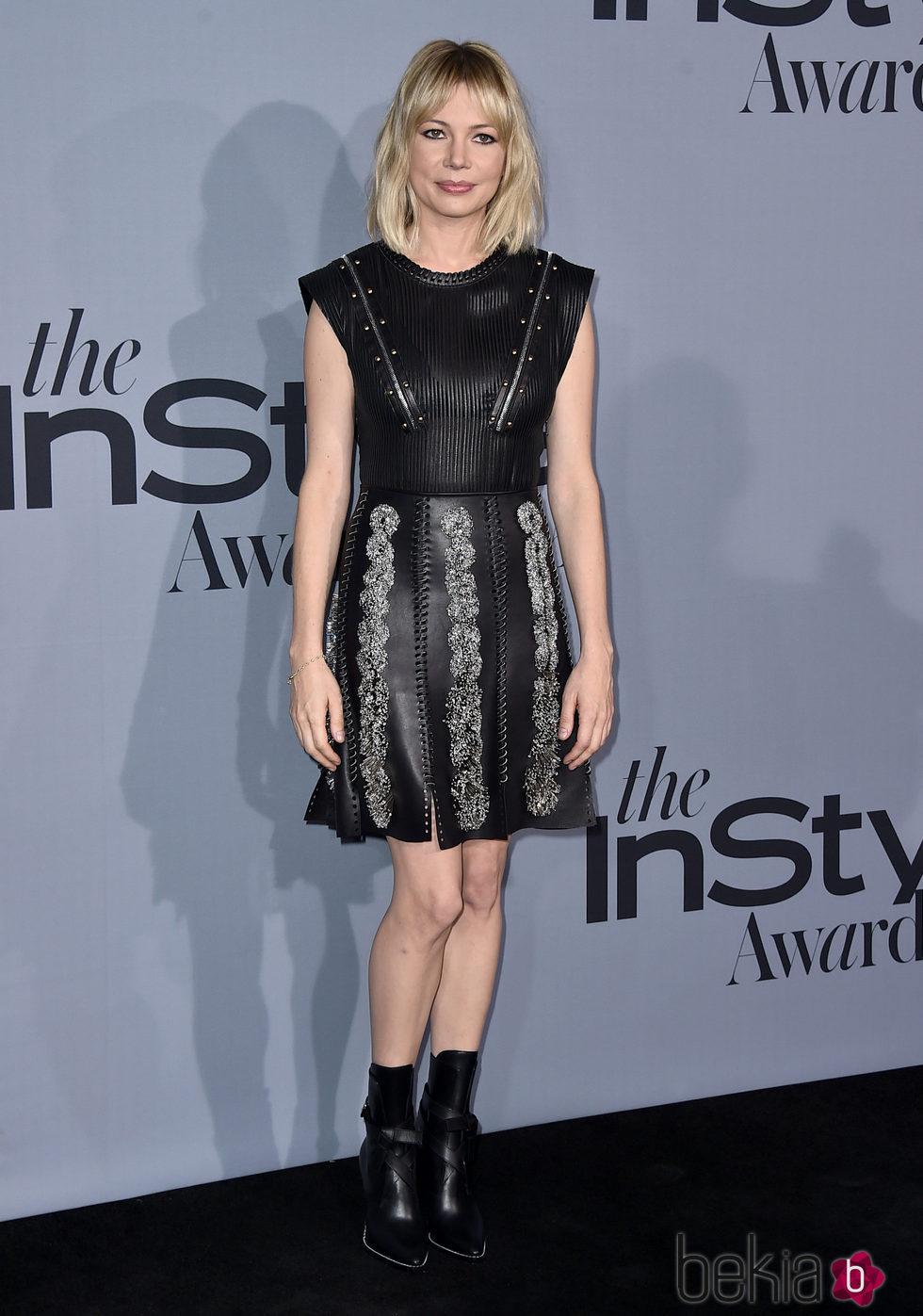 Michelle Williams en los InStyle Awards 2015