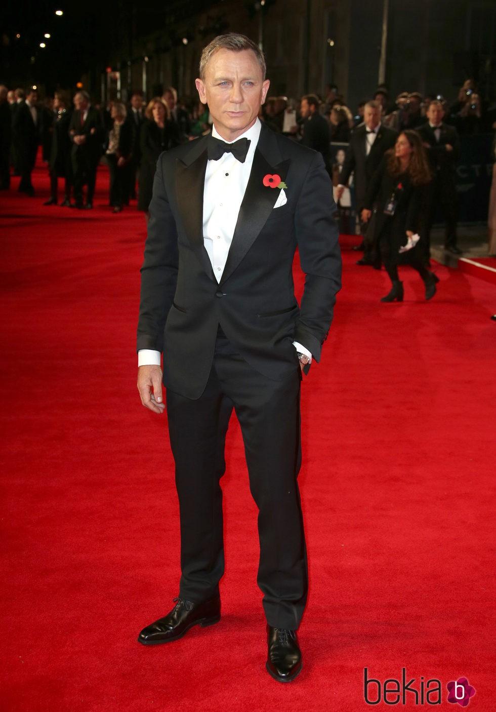 Daniel Craig en el estreno de 'Spectre'
