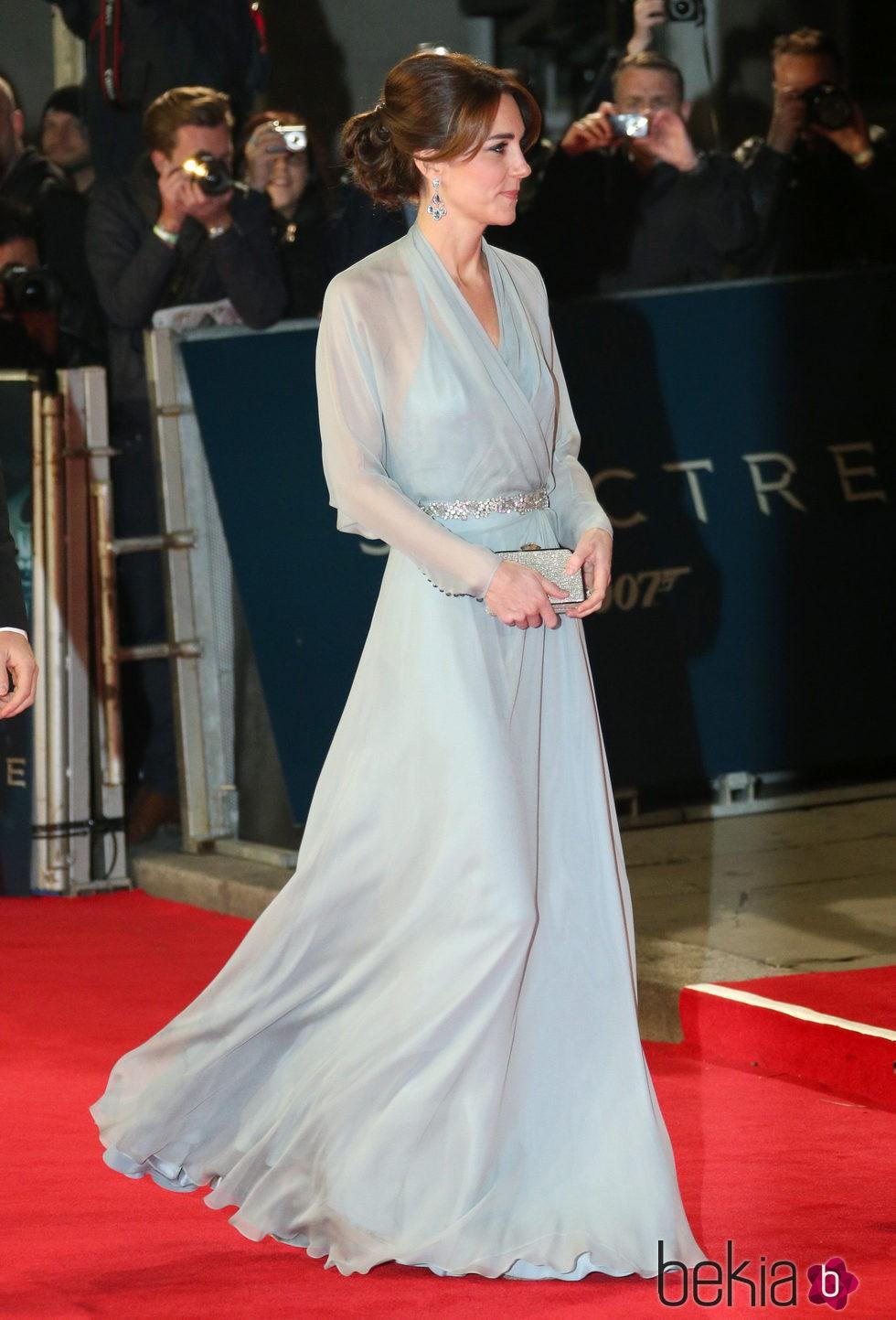 Kate Middleton en el estreno de 'Spectre'