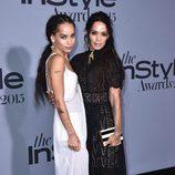 Zoe Kravitz y Lisa Bonet en los InStyle Awards 2015