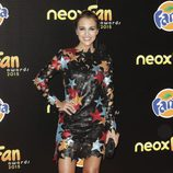 Paula Echevarría en los Neox Fan Awards 2015