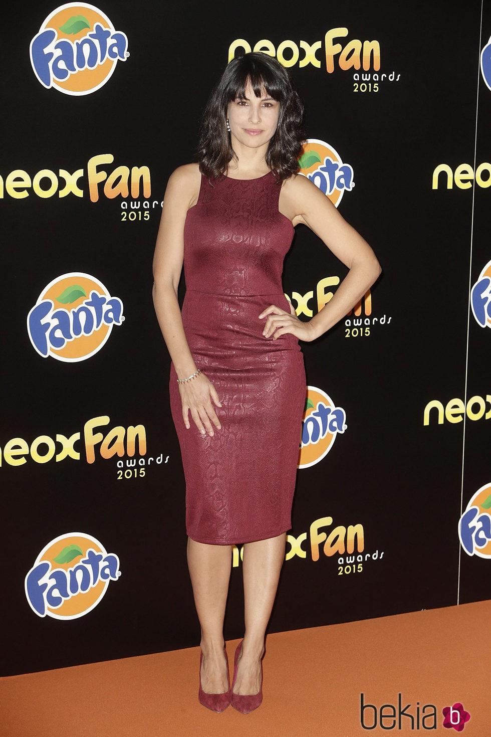 Xenia Tostado en los Neox Fan Awards 2015