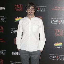 Antonio Pagudo en el estreno de 'Cabaret Maldito' en Madrid