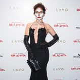 Jennifer Lopez en la fiesta de Halloween 2015 de Heidi Klum