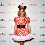 Kelly Bensimon en la fiesta de Halloween 2015 de Heidi Klum