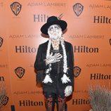 Adam Lambert disfrazado en su fiesta de Halloween 2015