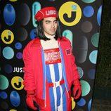 Joe Jonas disfrazado en la fiesta de Just Hared de Halloween 2015