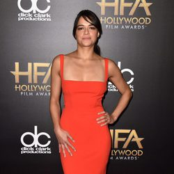 Michelle Rodriguez en los Hollywood Film Awards 2015