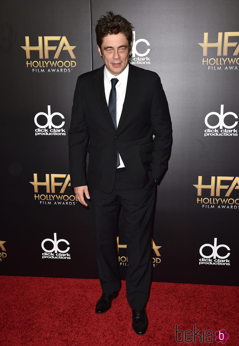 Benicio del Toro en los Hollywood Film Awards 2015