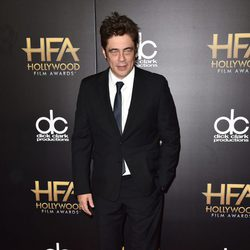 Benicio del Toro en los Hollywood Film Awards 2015
