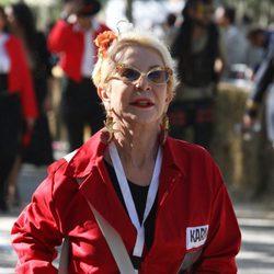 Karmele Marchante participando en los Autos Locos 2015
