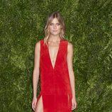 Constance Jablonski en la entrega de los CFDA 2015/ Vogue Fashion Fund