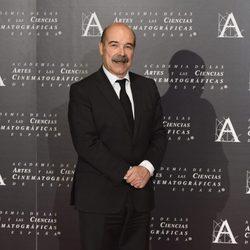 Antonio Resines en la doble entrega de la Medalla de Oro de la Academia