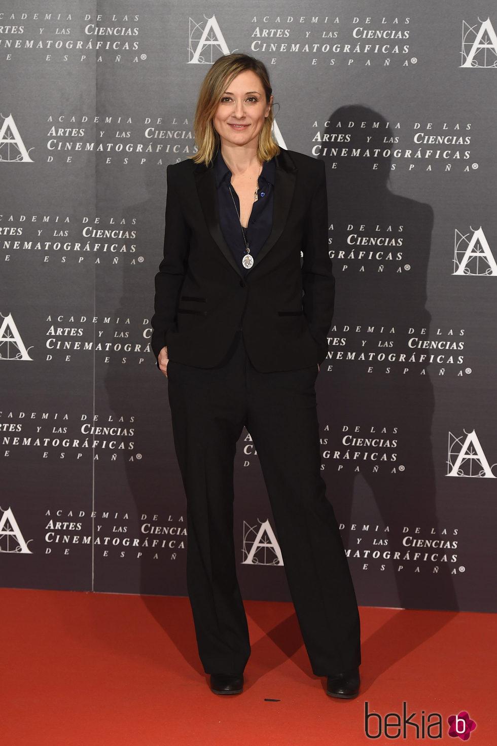 Nathalie Poza en la doble entrega de la Medalla de Oro de la Academia