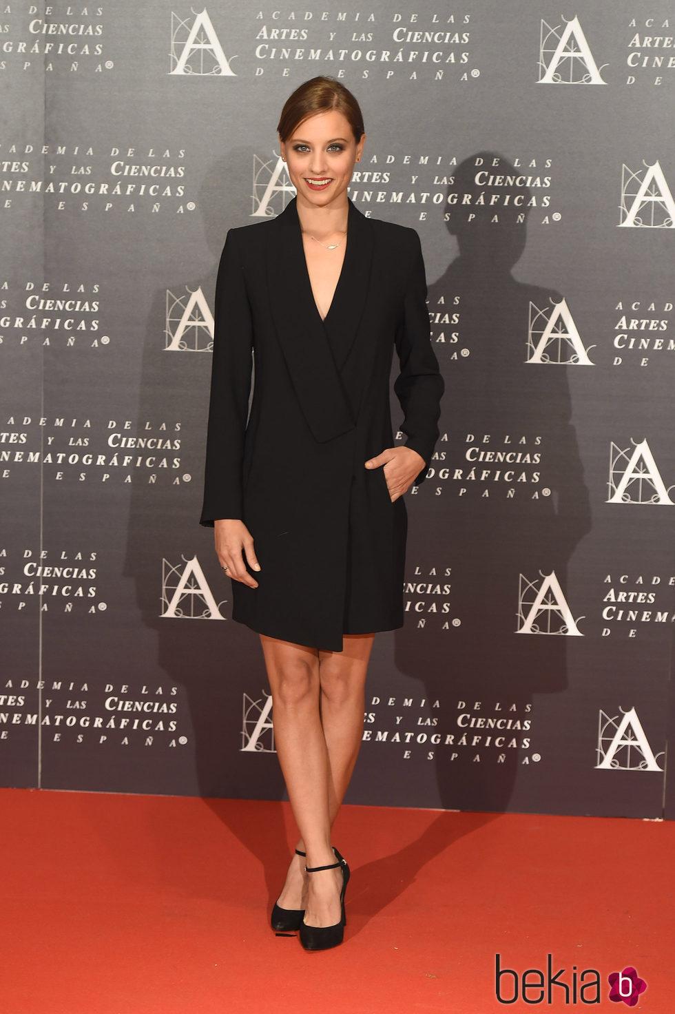 Michelle Jenner en la doble entrega de la Medalla de Oro de la Academia