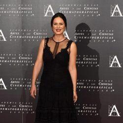 Aitana Sánchez Gijón en la doble entrega de la Medalla de Oro de la Academia