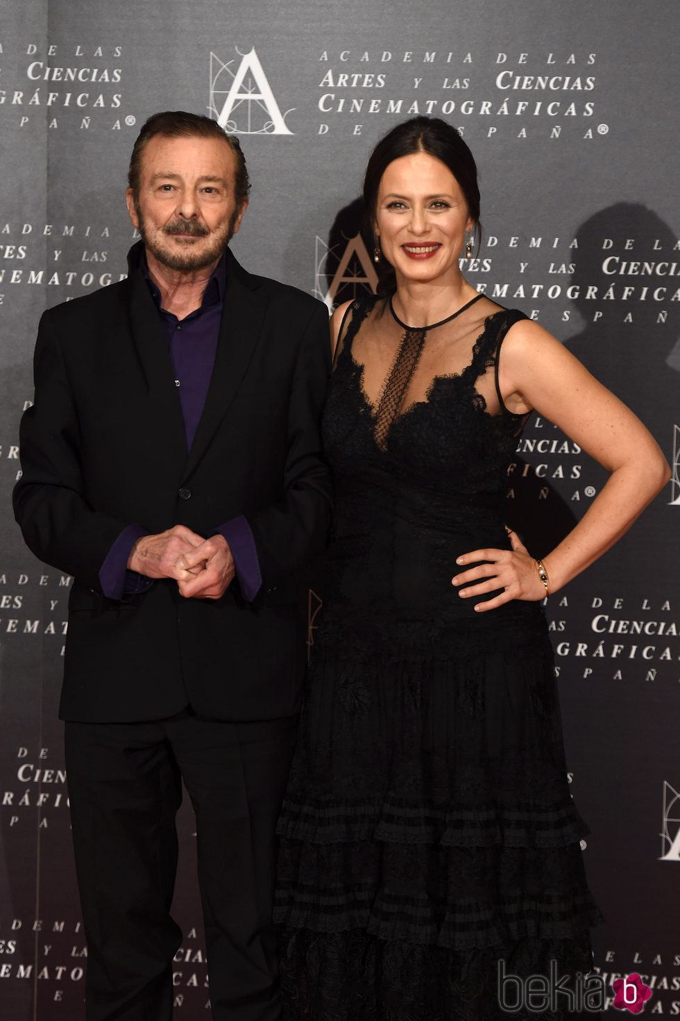 Aitana Sánchez Gijón y Juan Diego, galardonados con la Medalla de Oro de la Academia