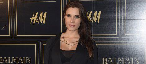 Pilar Rubio luce embarazo en la presentación de la colección de Balmain para H&M