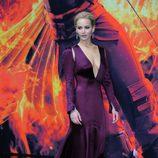 Jennifer Lawrence en el estreno de 'Los Juegos del Hambre: Sinsajo parte 2' en Berlín