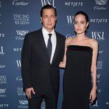 Angelina Jolie y Brad Pitt en los WSJ Innovator Awards 2015