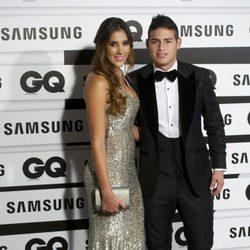 James Rodríguez y Daniela Ospina en los Premios GQ Hombres del Año 2015