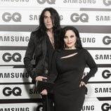 Mario Vaquerizo y Alaska en los Premios GQ Hombres del Año 2015