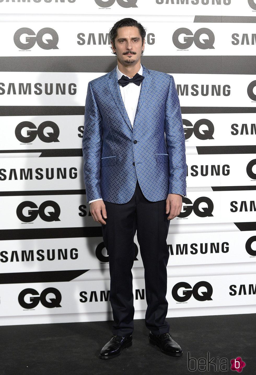 Antonio Pagudo en los Premios GQ Hombres del Año 2015