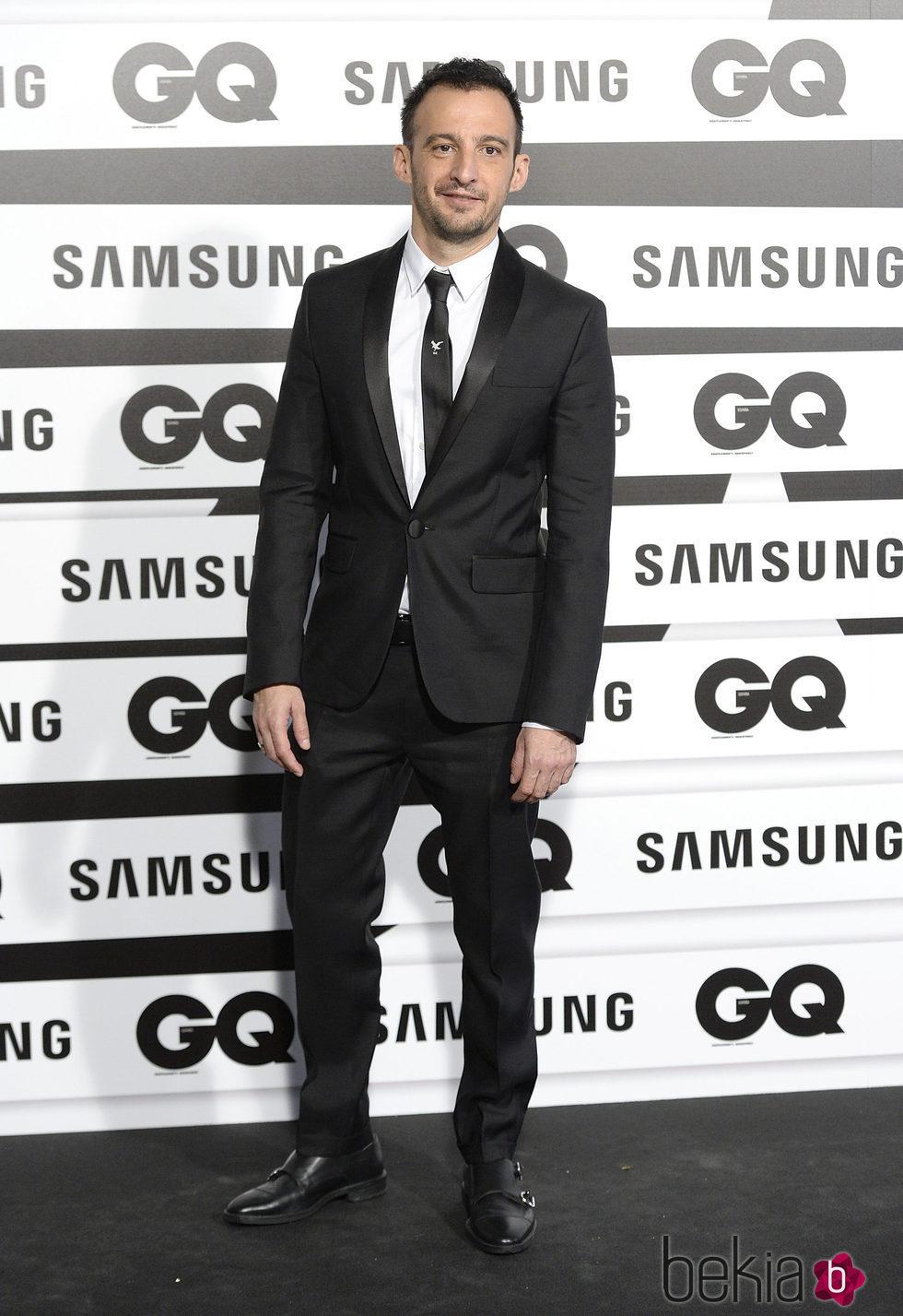Alejandro Amenábar en los Premios GQ Hombres del Año 2015
