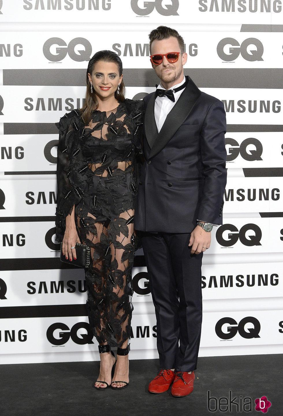 Macarena Gómez y Aldo Comas en los Premios GQ Hombres del Año 2015