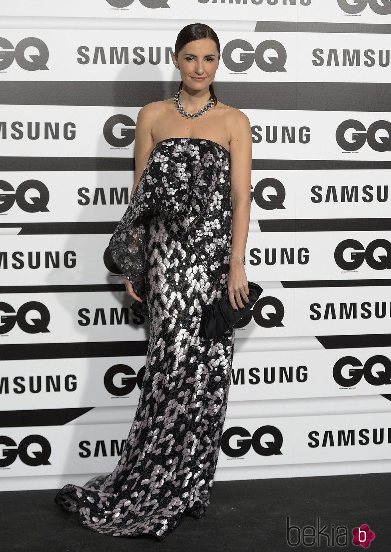 Mónica de Tomás en los Premios GQ Hombres del Año 2015