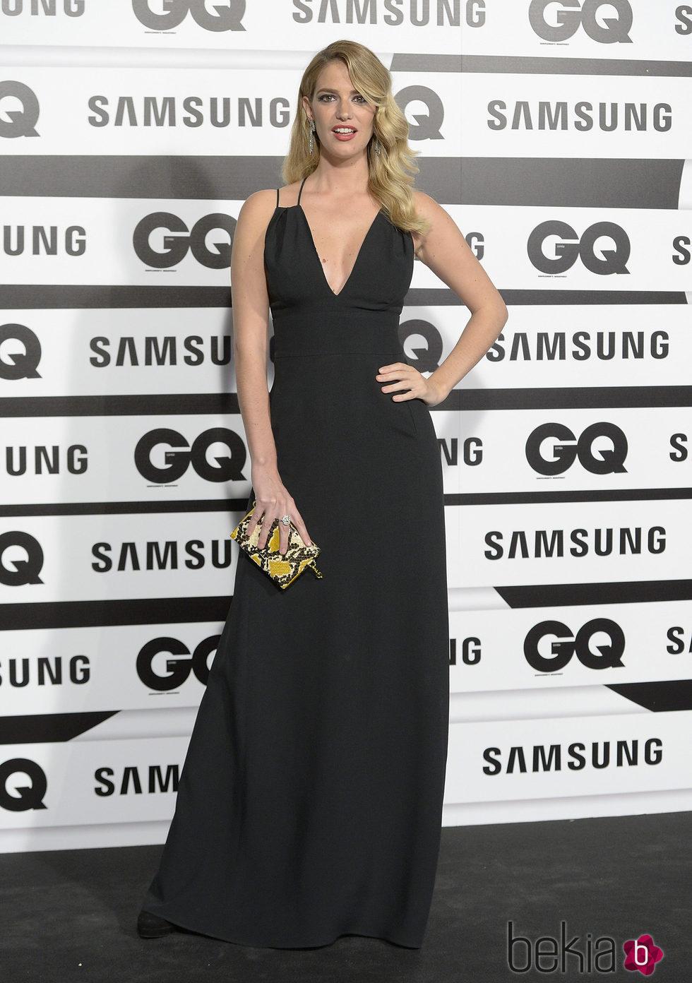 Teresa Baca en los Premios GQ Hombres del Año 2015