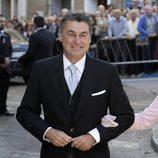Antonio Rivera Pérez en la boda de Eva González y Cayetano Rivera