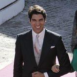 Cayetano Rivera, radiante de felicidad en su boda con Eva González