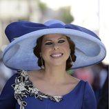 Pastora Soler en la boda de Eva González y Cayetano Rivera