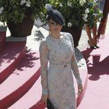 Raquel Rodríguez en la boda de Eva González y Cayetano Rivera