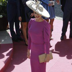 Elisabeth Reyes en la boda de Eva González y Cayetano Rivera