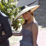 Lourdes Montes en la boda de Eva González y Cayetano Rivera